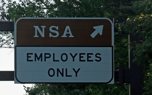 National Security Agency sign