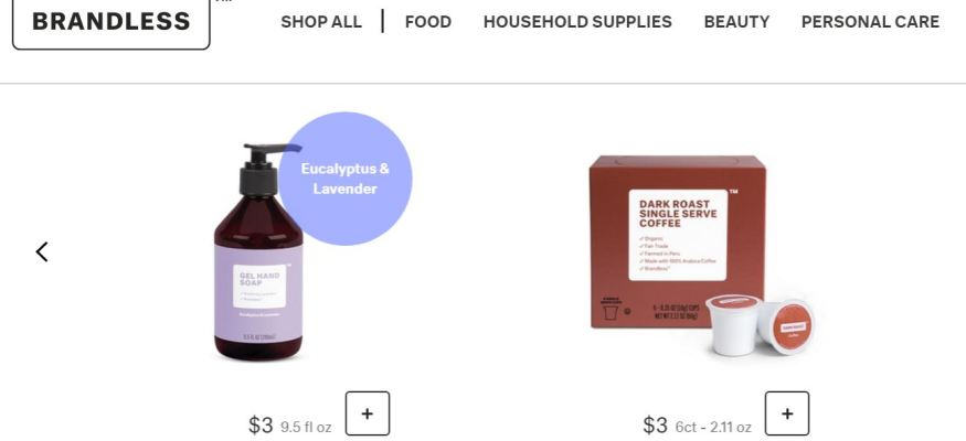 Brandless.com Wants You to Stop Paying the 'Name Brand Tax'