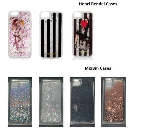 Recalled iPhone cases
