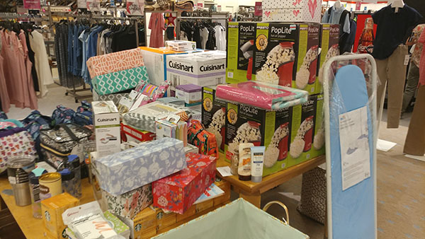 Macy's Backstage: Ironing board and other items take Center Stage
