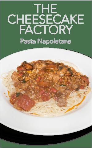 The Cheesecake Factory Pasta Napoletana