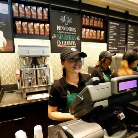 Starbucks helps employees in wake of Harvey and Irma