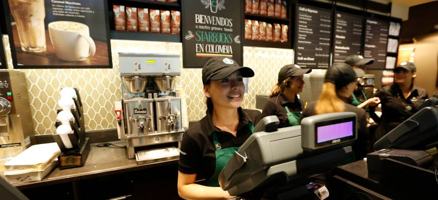 Starbucks helps employees in wake of Harvey and Irma