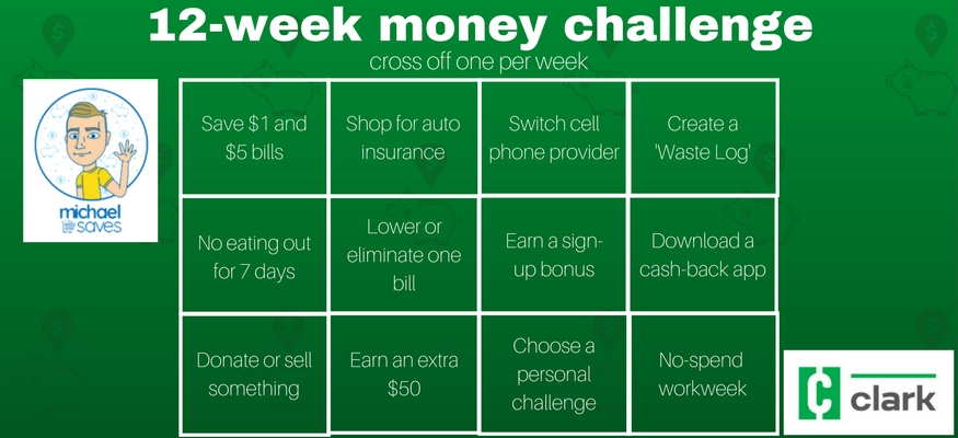 Save $1,000 with this 12-week money challenge