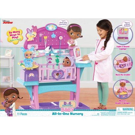 Disney Junior Doc McStuffins Baby All in One Nursery