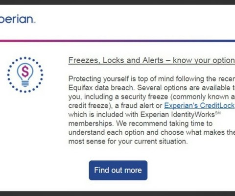 Experian uses security freeze frenzy to push $25/month credit monitoring