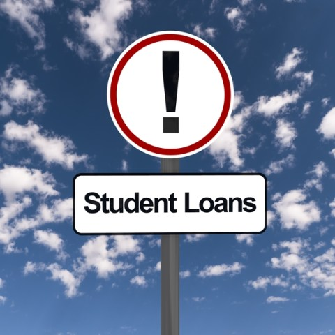 You may need to unfreeze your credit to apply for student loans