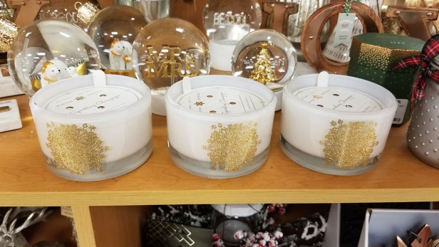 T.J. Maxx holiday candles