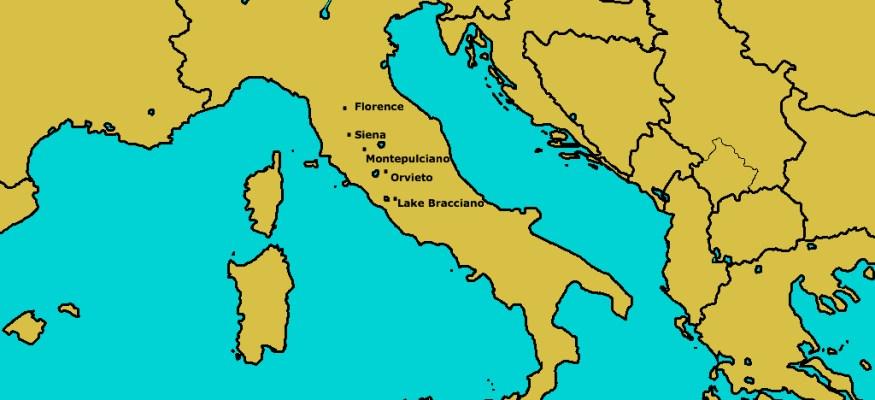 Clark's Italian adventure!