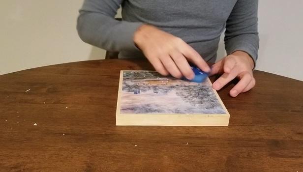Remove the paper