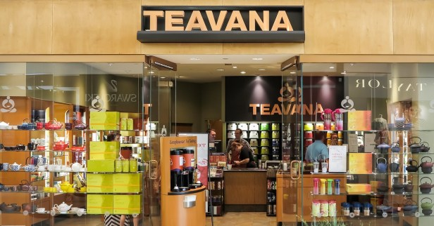 Teavana closing stores in 2018