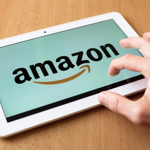 Amazon on Tablet