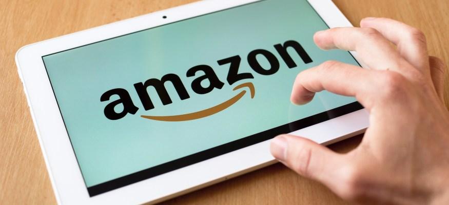 Amazon on Tablet