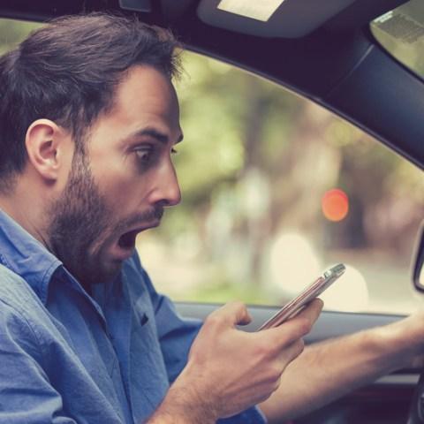 Around 40% of drivers admit to this frightening bad habit