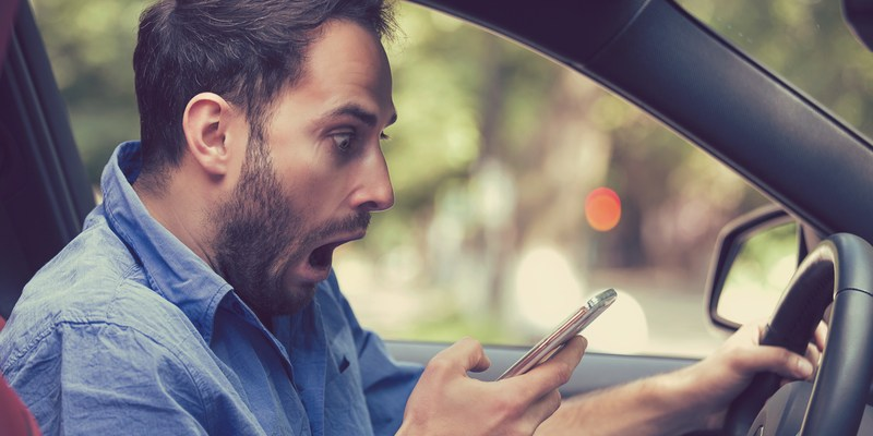Around 40% of drivers admit to this frightening bad habit