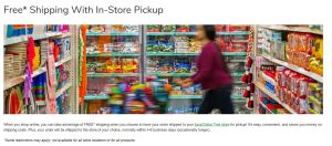 dollar tree ship to store free shipping