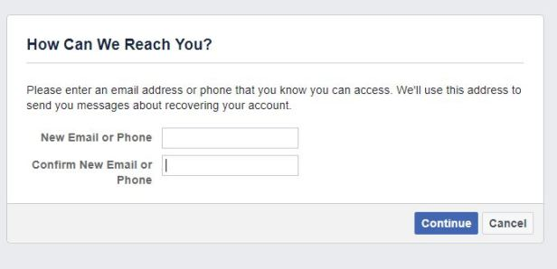 Here's how your friends could help you recover your Facebook