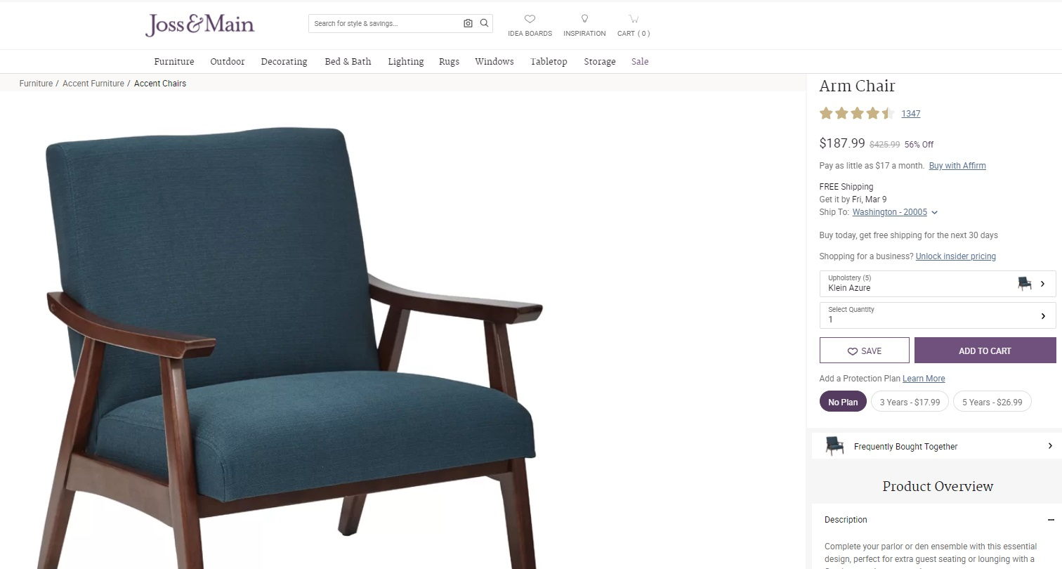 Clark.com Reached Out To Ask Why Wayfairu0027s Family Of Brands Sell The Exact  Same Furniture Under Different Product Names And Prices.