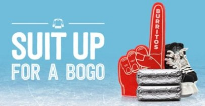 chipotle bogo banner hockey