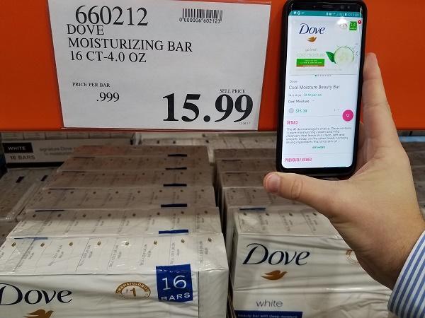 Costco vs Boxed Dove