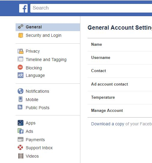Heres how to deactivate your facebook account clark howard choose manage your account and then scroll down to click deactivate your account this will disable your account and hide your profile from most things ccuart Gallery