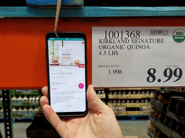 Costco vs Boxed quinoa