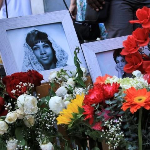 aretha franklin memorial