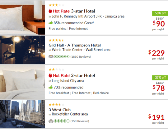 hotwire hotels