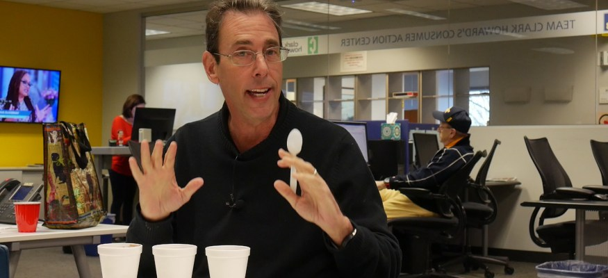 Clark Howard ice cream taste test