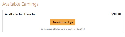 $38 earned after 15 days