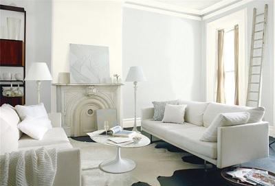 Benjamin Moore's Decorator's White (benjaminmoore.com)