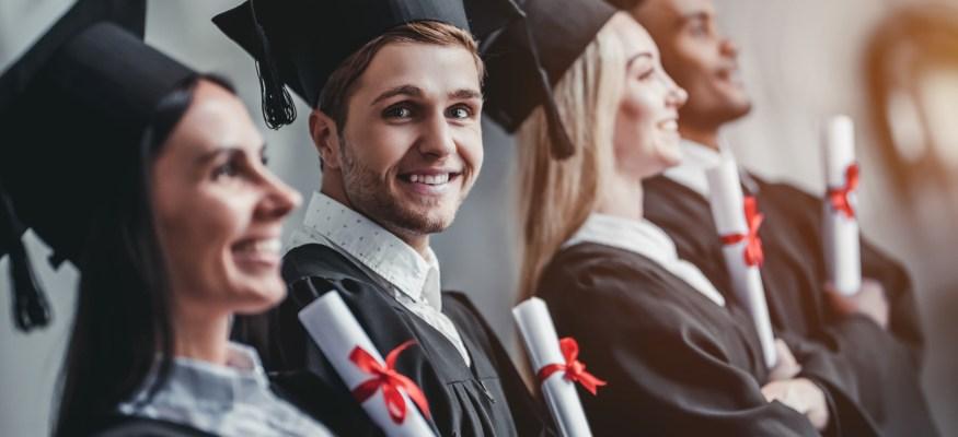 college graduate graduation commencement