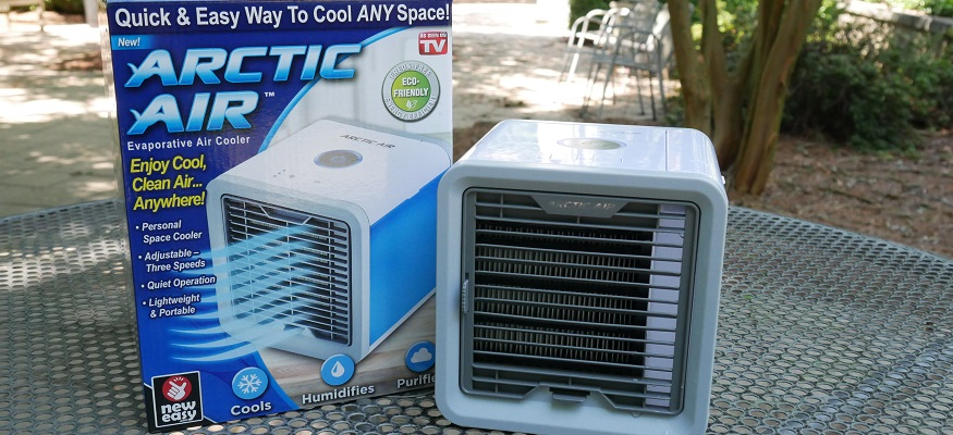 Ontel arctic air personal space cooler portable conditioner