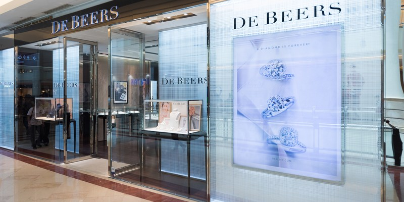 De Beers diamond store