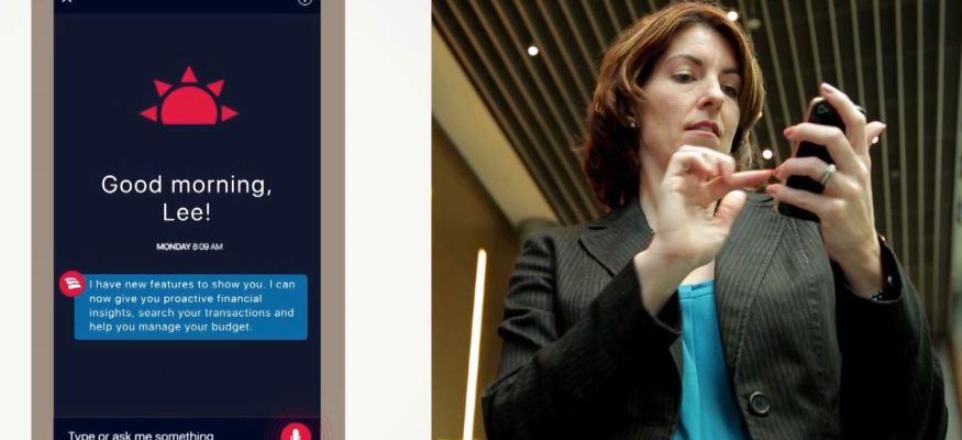 Bank of America virtual assistnat Erica