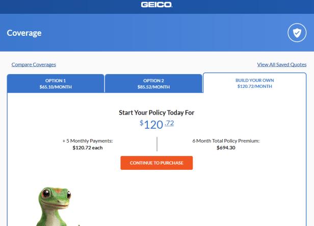 geico100 auto insurance quote