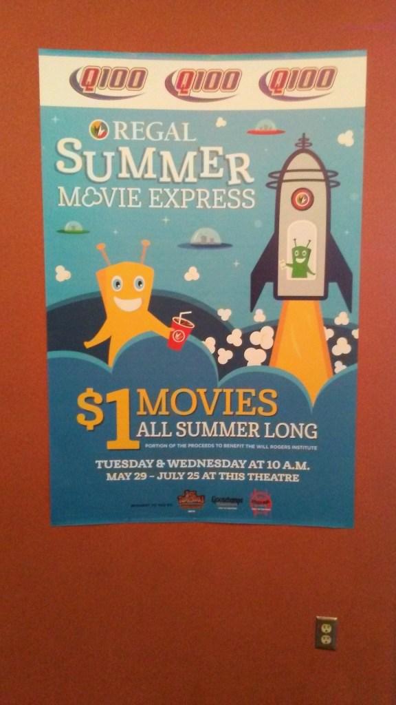 regal summer movie express $1 movies