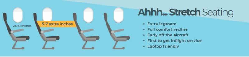 Which airlines have the most legroom? Here's legroom by airline