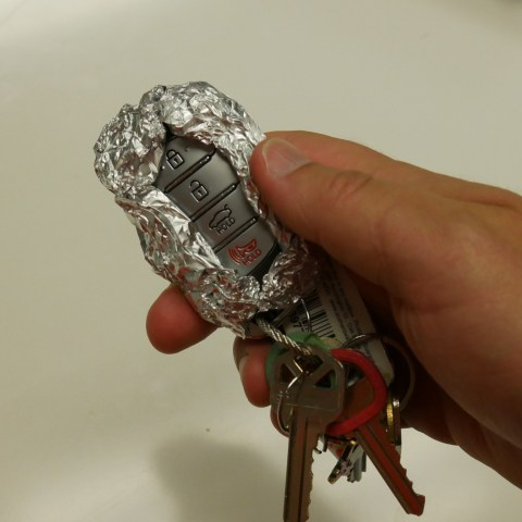 Can wrapping your key fob in foil stop car thieves? We put it to the test!