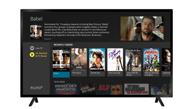 On-demand movies and TV shows