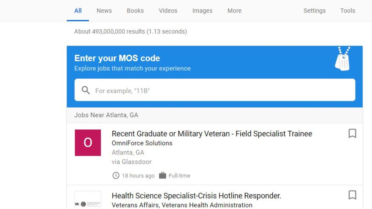 Google introduces new 'jobs for veterans' tool - Clark Howard