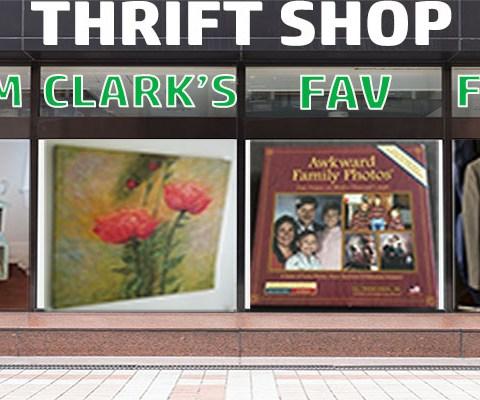 Team Clark's favorite thrift shop finds