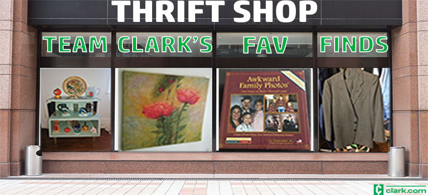 Team Clark's favorite thrift shop finds
