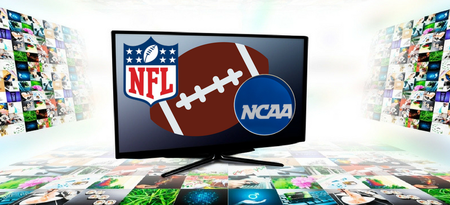 The best live TV streaming services for NFL and college football season