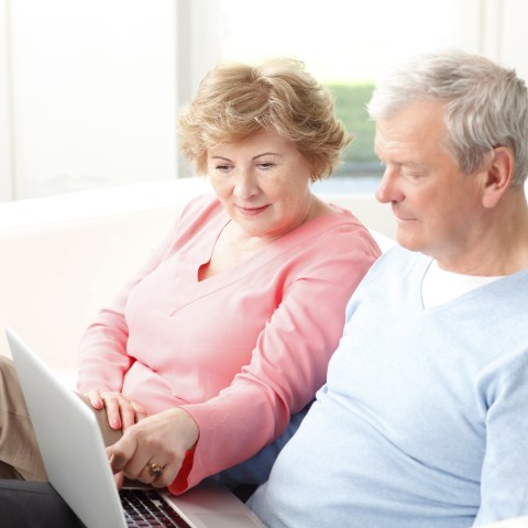 Retirement planning couple