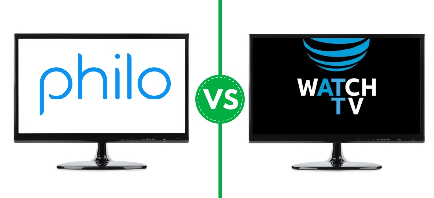 Philo vs  AT&T WatchTV: Which cheap live TV streaming