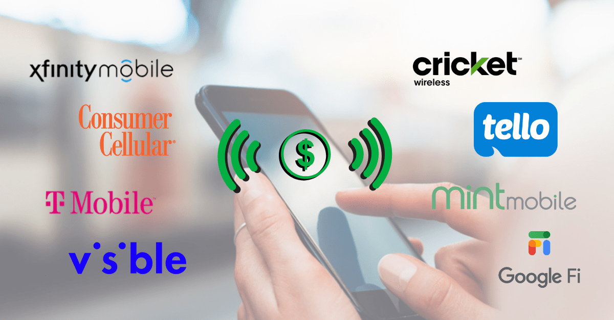The best cell phone plans include Tello, Mint Mobile, Visible, T-Mobile, Consumer Cellular and more