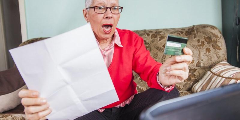 credit card danger
