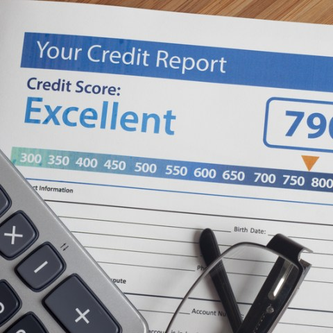 credit report with score