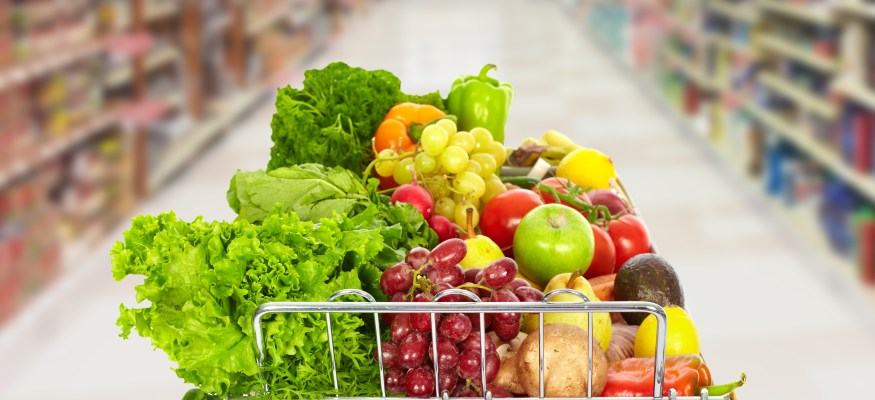 Here's why your grocery cart has more fruits and vegetables